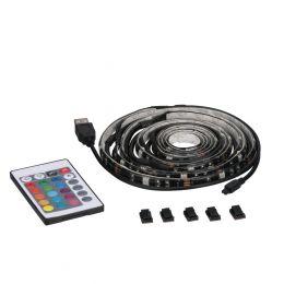 7-ft LED RGBW Flexible USB Tape Light - Black, AC1213-BKG-07LF2
