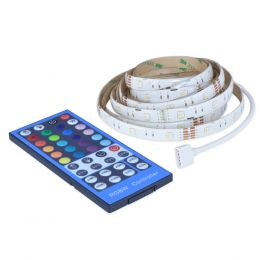 6-ft LED Flexible and Cuttable Plug-in Tape Light - RGB, Warm White, AC1068-WHG-06LF0