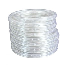 24-ft Outdoor LED Plug-in Rope Light - White, AC1147-CLR-24LF0