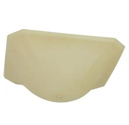 Metropolitan Semi-Flush Mount Replacement Lens - White, D4617, 328662