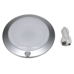 7-in Rechargeable LED Motion-Activated Closet Light - Silver, RE1110-SIL-07LF2