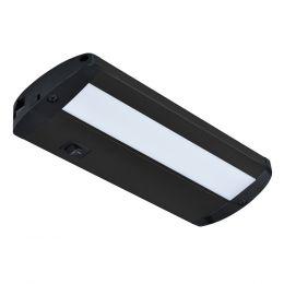 Designer Series 9-in LED Plug-in Under Cabinet Light - Satin Black, UC1051-BK2-09LF0