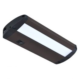 Designer Series 9-in LED Plug-in Under Cabinet Light - Matte Bronze, UC1051-BR2-09LF0