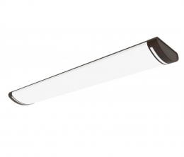 Vista 48-in x 10-in LED Linear Flush Mount - Light Bronze, LF1130-BR4-48LF4